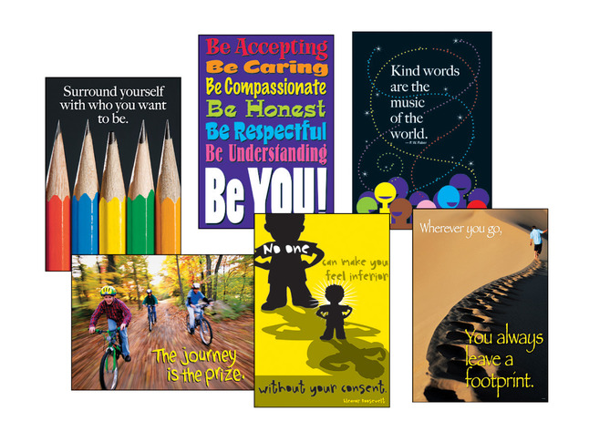 Motivational, Educational Posters, Classroom Posters Supplies, Item Number 089447