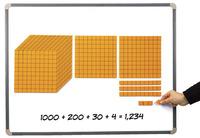 Base 10 Blocks, Place Value, Base 10, Base 10 Math Supplies, Item Number 089888