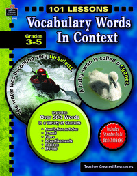 Vocabulary Games, Activities, Books Supplies, Item Number 089931