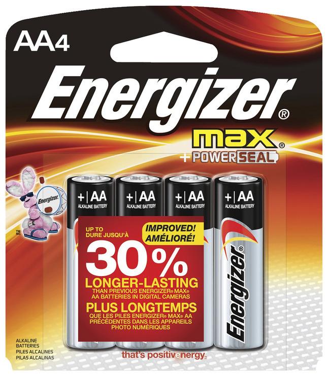 AA Batteries, Item Number 090166