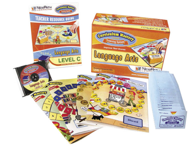 Language Arts Games, Literacy Games Supplies, Item Number 090393