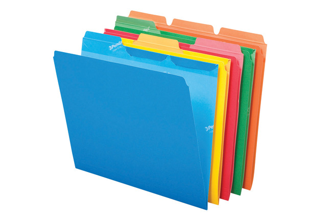 Top Tab File Folders, Item Number 090534