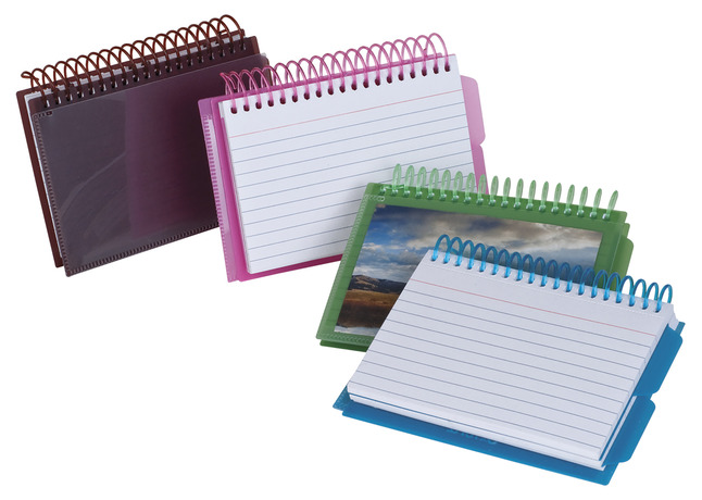 Index Card Binders, Item Number 090594