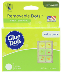 Glue Dots, Item Number 091233
