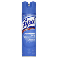 Lysol Disinfectant Spray, 19 oz Aerosol Can, Spring Waterfall Scent, Pack of 12 Item Number