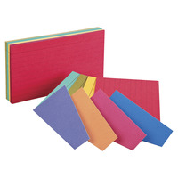 3X5 Ruled Index Cards, Item Number 091562