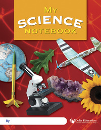 Delta Education My Science Notebook, Grade 3-6, 7 X 9 in, 64 Pages, Pack of 10 Item Number 100-1217