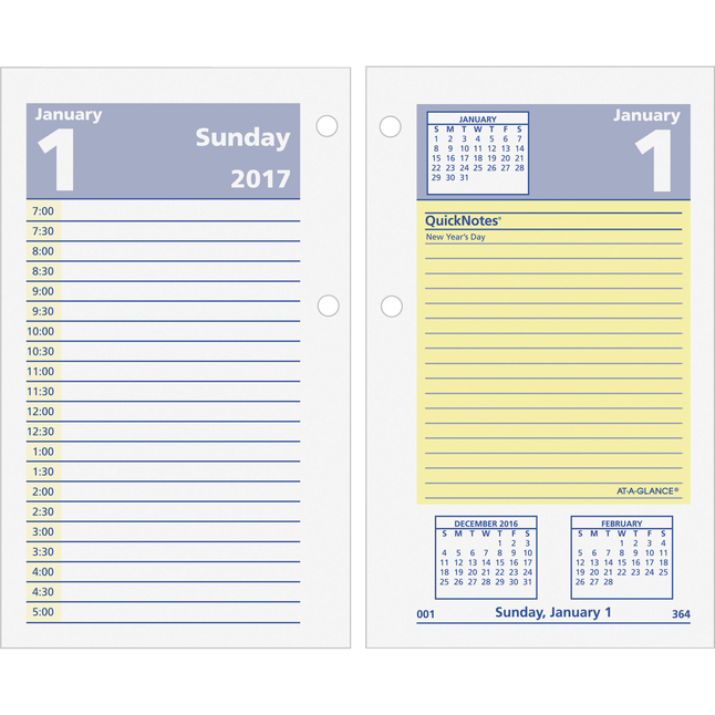 Daily Planner and Calendars, Item Number 1053117