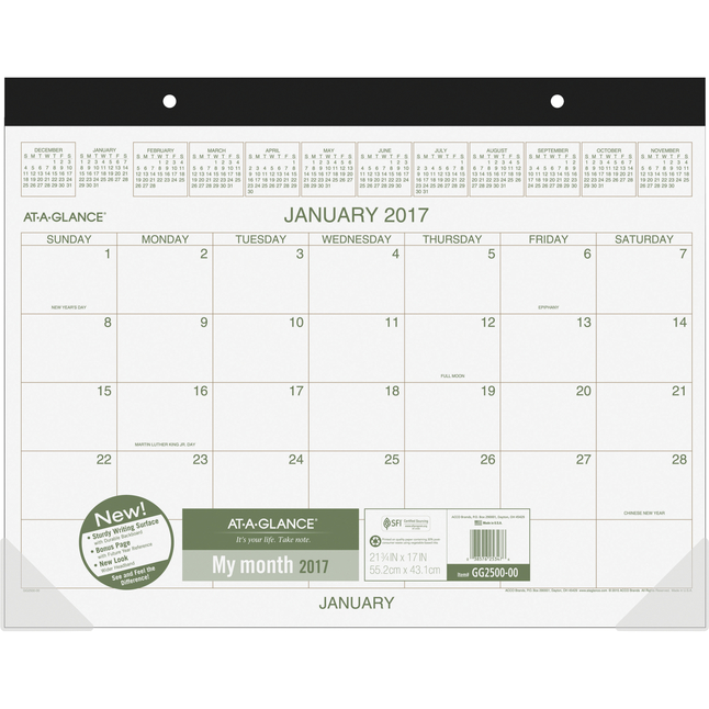 Daily Planner and Calendars, Item Number 1053159