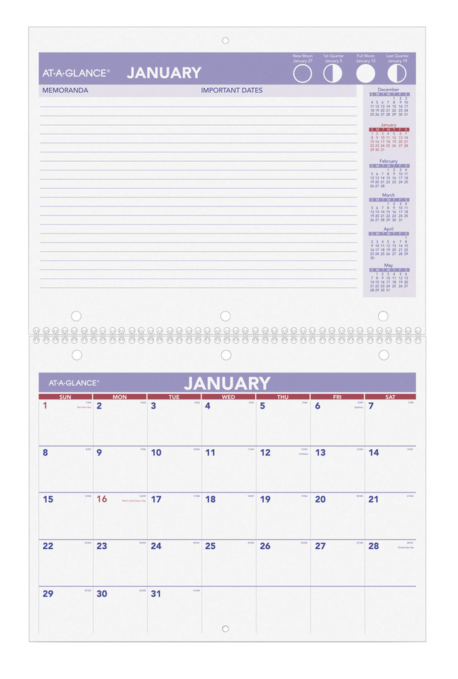 Daily Planner and Calendars, Item Number 1053174
