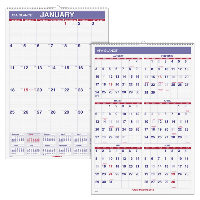 Daily Planner and Calendars, Item Number 1053186