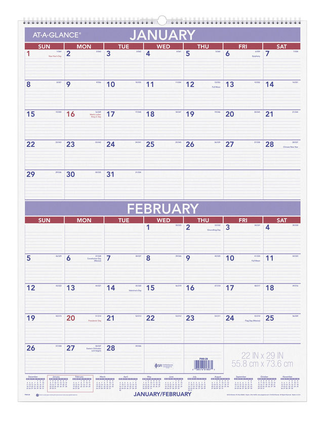 Daily Planner and Calendars, Item Number 1053194