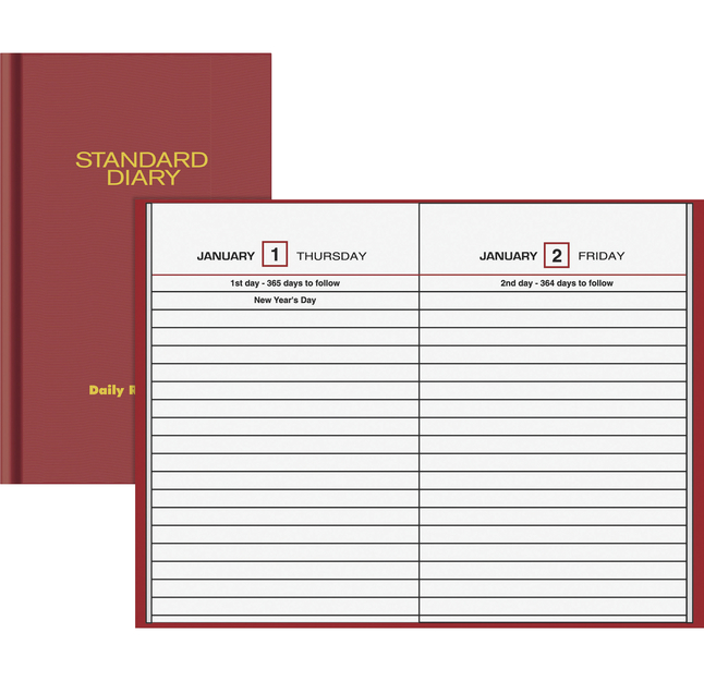 Daily Planner and Calendars, Item Number 1053203