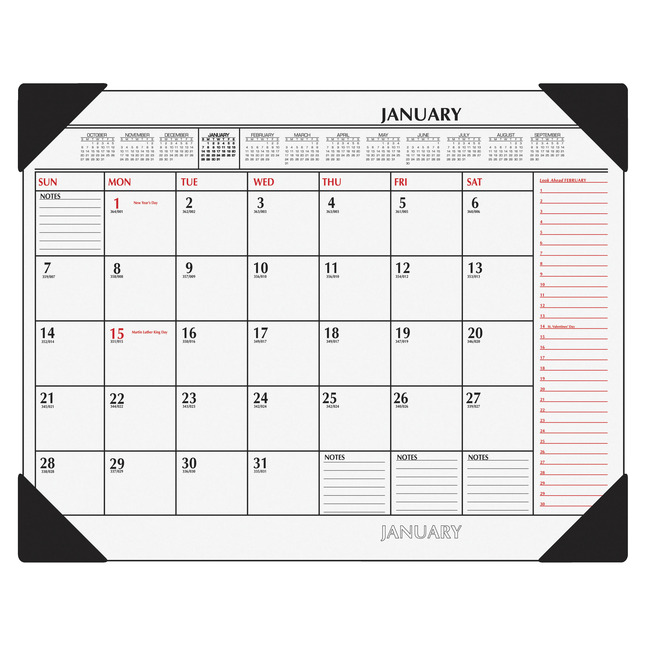 Daily Planner and Calendars, Item Number 1053207