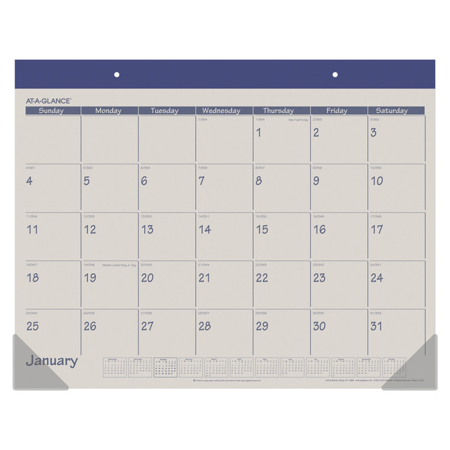 Daily Planner and Calendars, Item Number 1053217