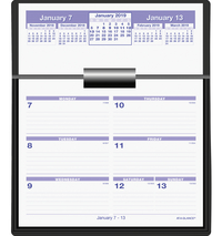 Daily Planner and Calendars, Item Number 1053240