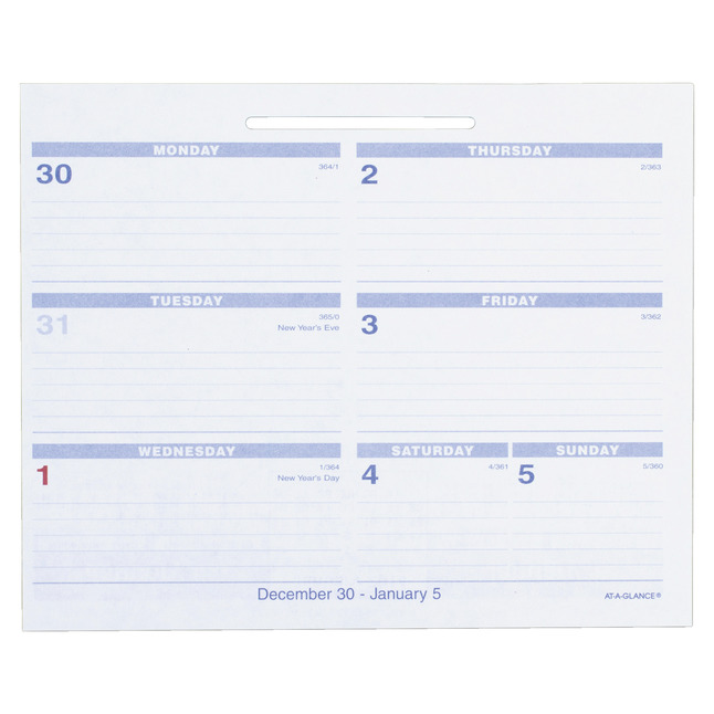 Daily Planner and Calendars, Item Number 1053241