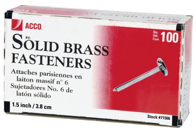 Paper Fasteners, Item Number 1053504