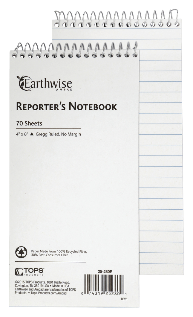 Steno Pads, Steno Notebooks, Item Number 1053855