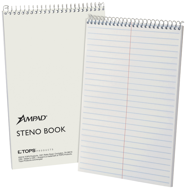Steno Pads, Steno Notebooks, Item Number 1053872