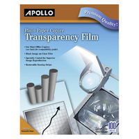 Overhead Transparency Film and Sheets, Item Number 1054001
