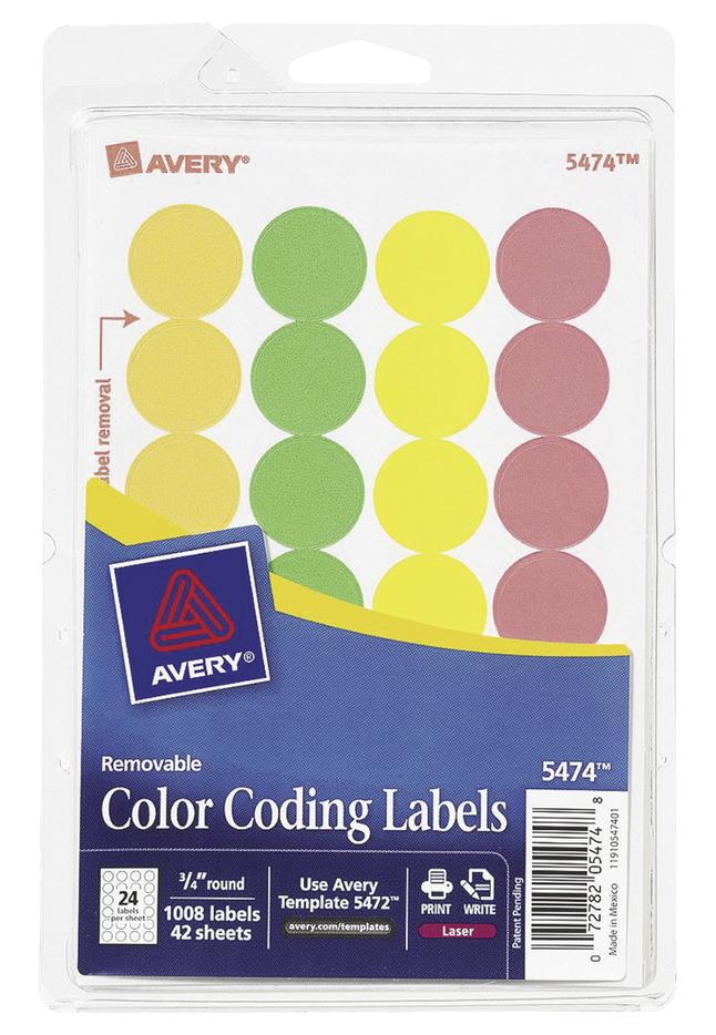 General Labels, Item Number 1054133
