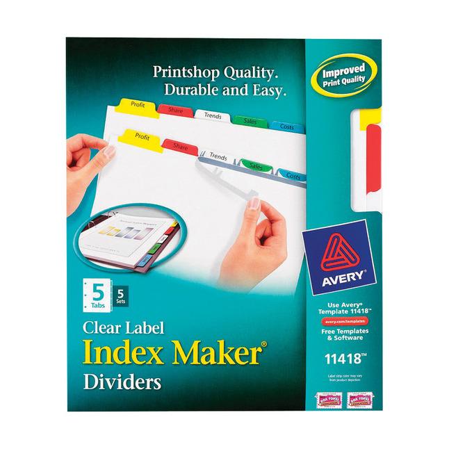 Tab Dividers, Item Number 1054180