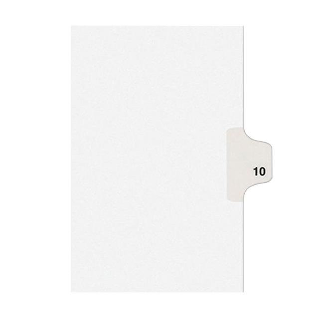 Index Dividers, Item Number 1054212