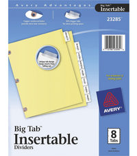 Tab Dividers, Item Number 1054350