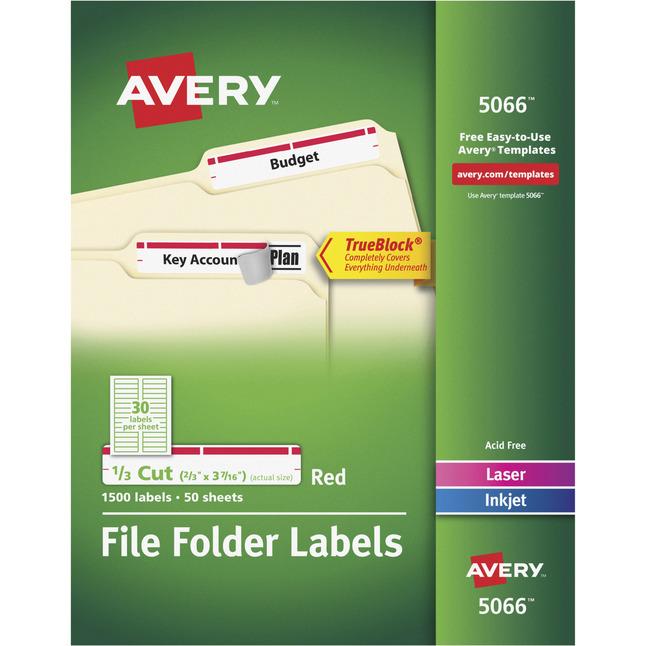 File Folder and File Cabinet Labels, Item Number 1054546