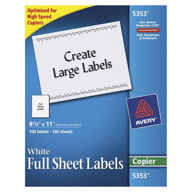 Address Labels, Item Number 1054609