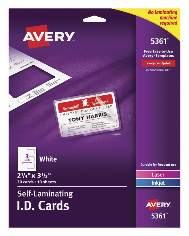 Name Badge Labels, Item Number 1054614