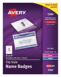 Badge Holders, Item Number 1054624