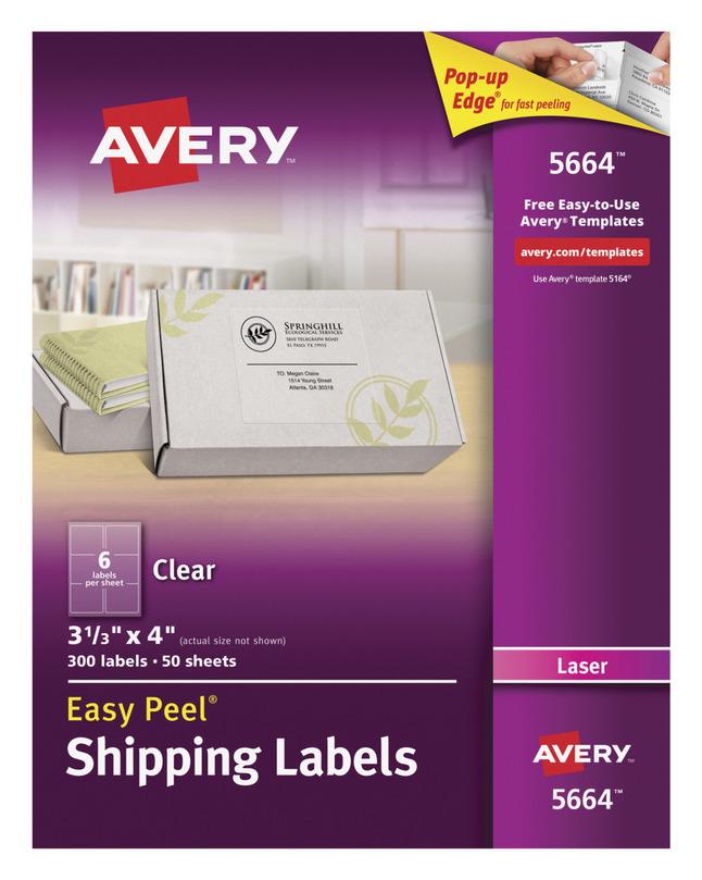 Address Labels, Item Number 1054641
