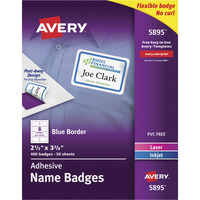 Name Badge Labels, Item Number 1054654