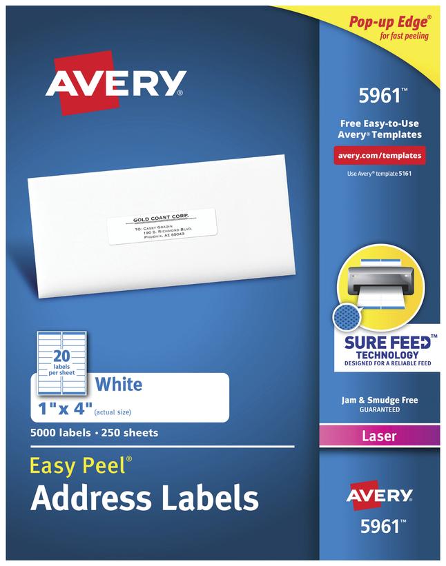 Address Labels, Item Number 1054665