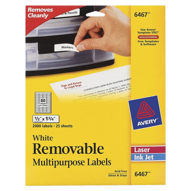 General Labels, Item Number 1054707
