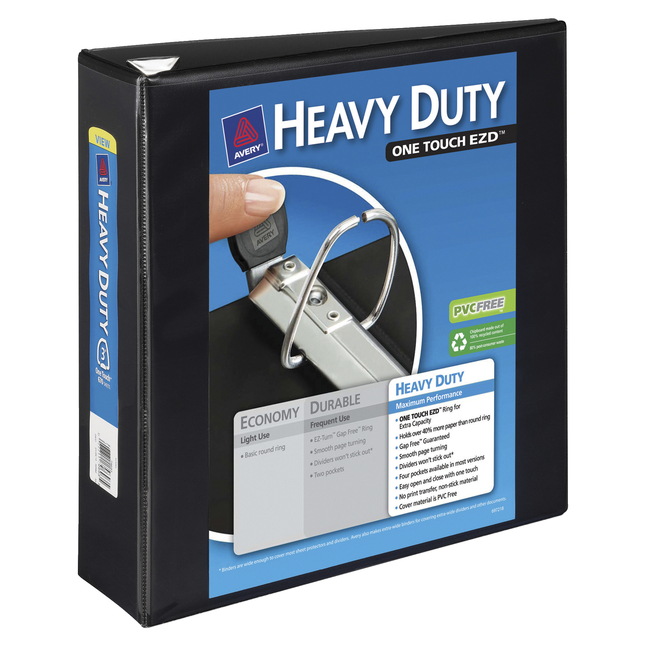 Heavy Duty D-Ring Presentation Binders, Item Number 1054789