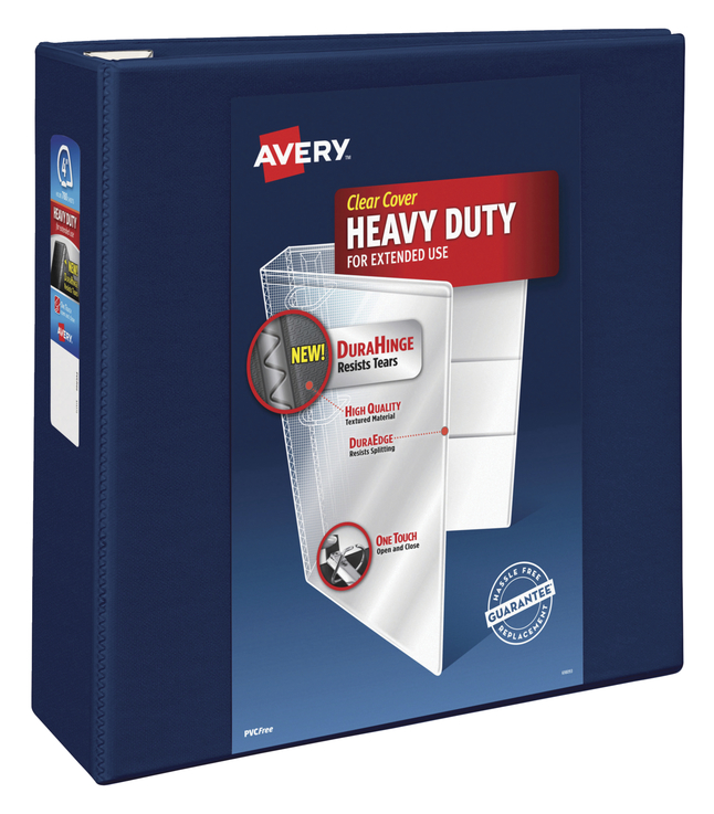 Heavy Duty D-Ring Presentation Binders, Item Number 1054800