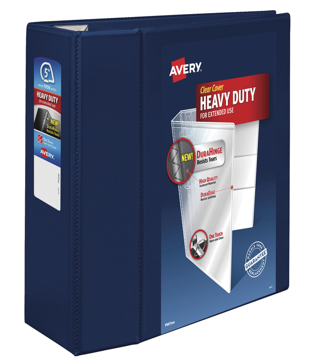 Heavy Duty D-Ring Presentation Binders, Item Number 1054802