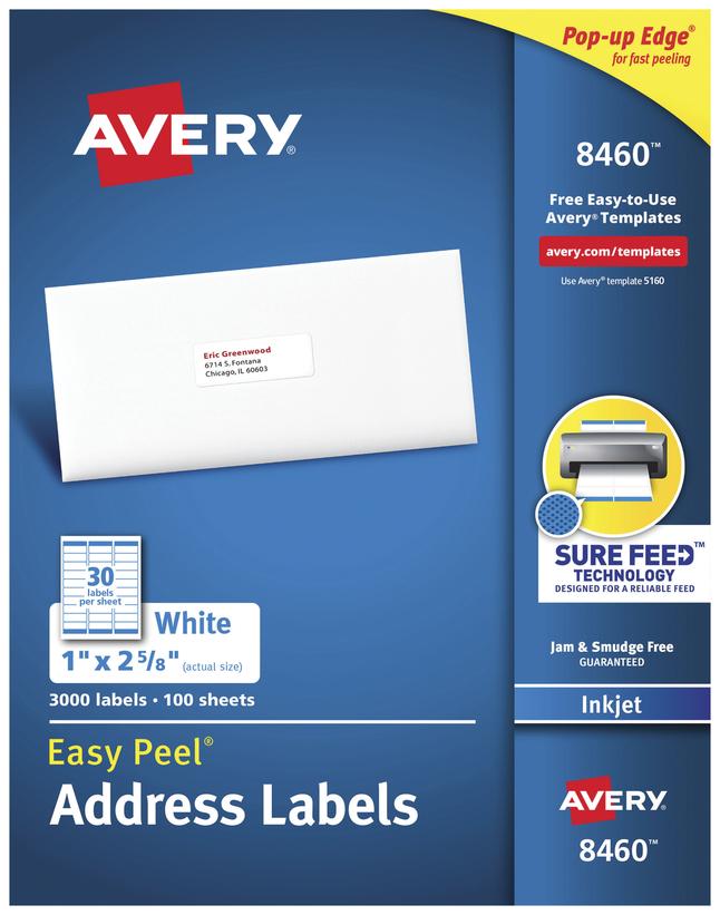 Address Labels, Item Number 1054873