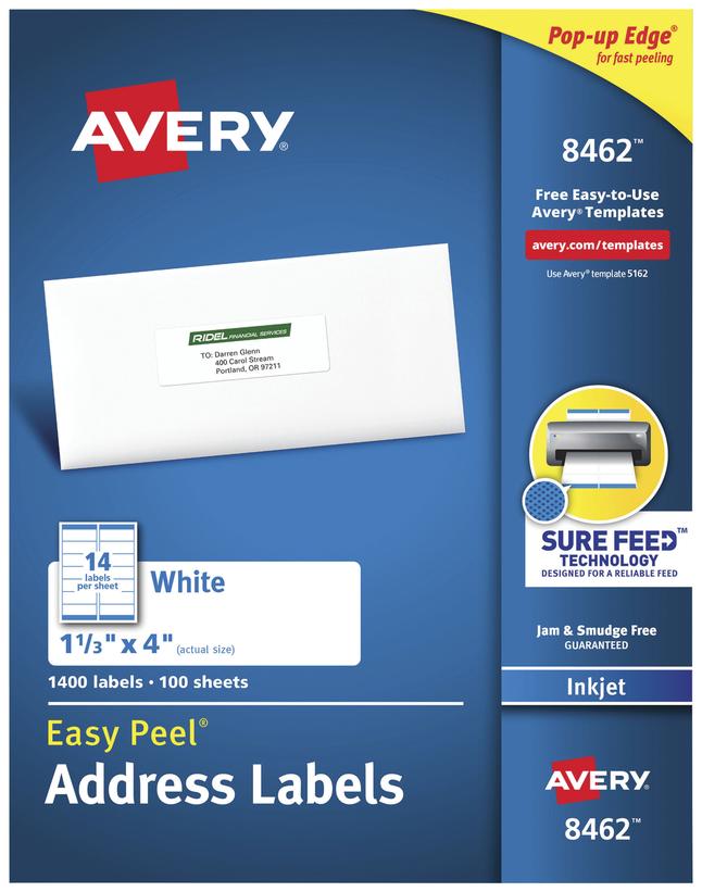 Address Labels, Item Number 1054874