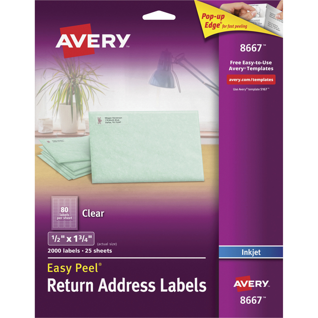 Address Labels, Item Number 1054881