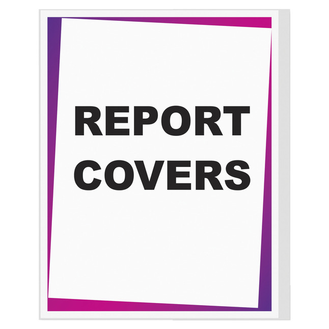 Report Covers, Item Number 1056627
