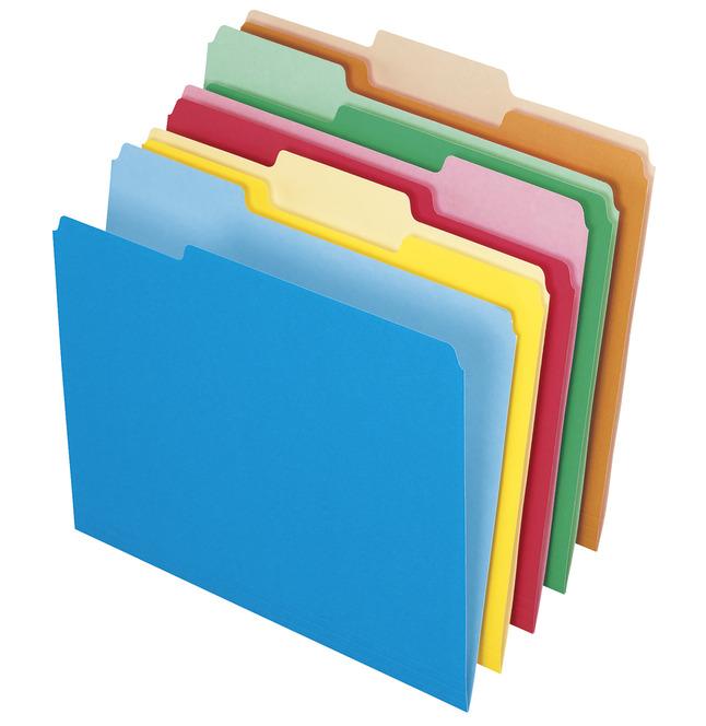 Top Tab File Folders, Item Number 1058619