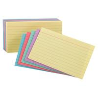4x6 Ruled Index Cards, Item Number 1058826