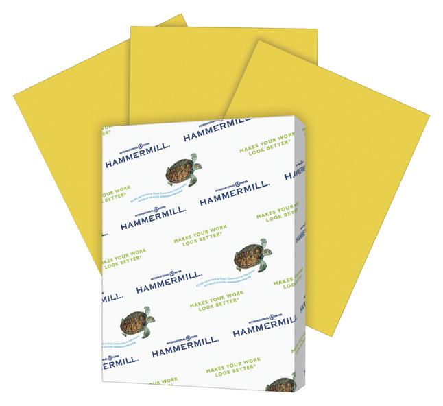 Colored Copy Paper, Item Number 1060757