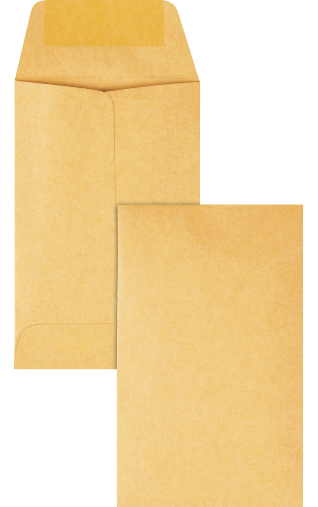 Small Envelopes and Coin Envelopes, Item Number 1066550