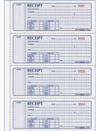 Receipts and Invoices and Statement Forms, Item Number 1066749