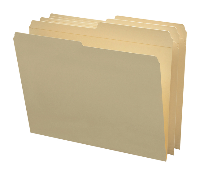 Top Tab File Folders, Item Number 1068547